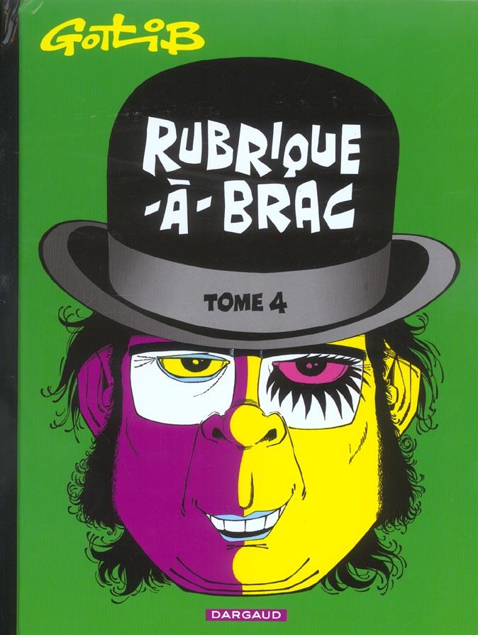 GOTLIB - RUBRIQUE-A-BRAC - TOME 4 - RUBRIQUE-A-BRAC - TOME 4
