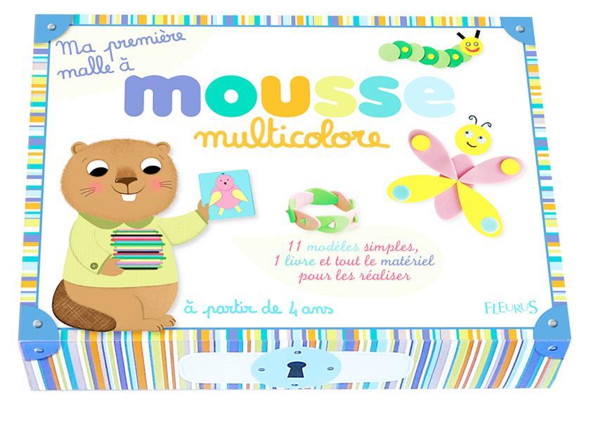 Ma Premiere Malle A ; Mousse Multicolore