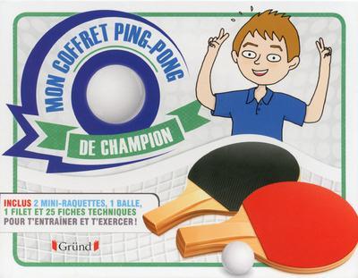Mon coffret ping-pong