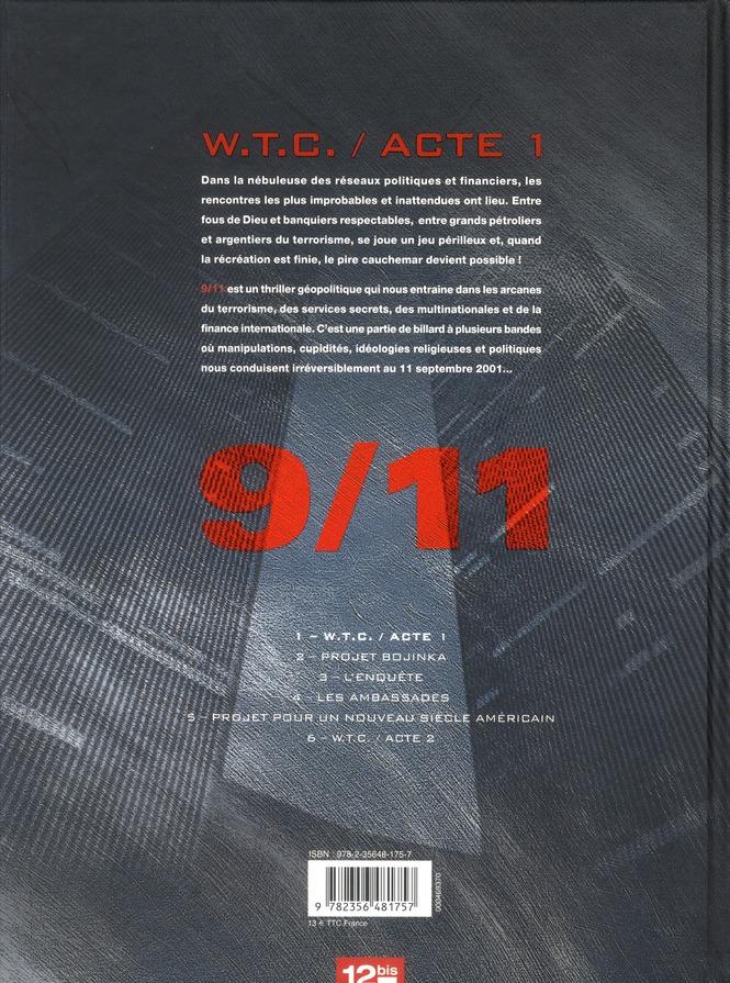 9/11 t.1 ; W.T.C. / acte 1