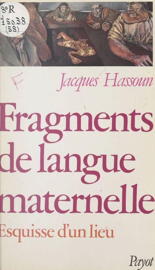 Fragments de langue maternelle