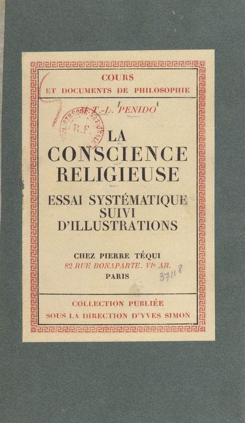 La conscience religieuse
