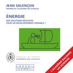 Vente AudioBook : Énergie. Des solutions réalistes pour un développement durable ?  - Jean Salencon