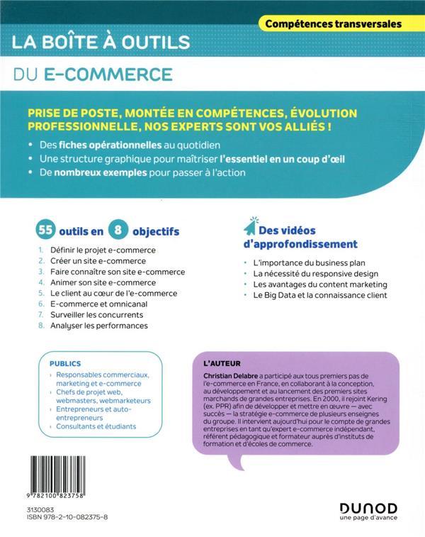 La boîte à outils ; du e-commerce (2e édition)