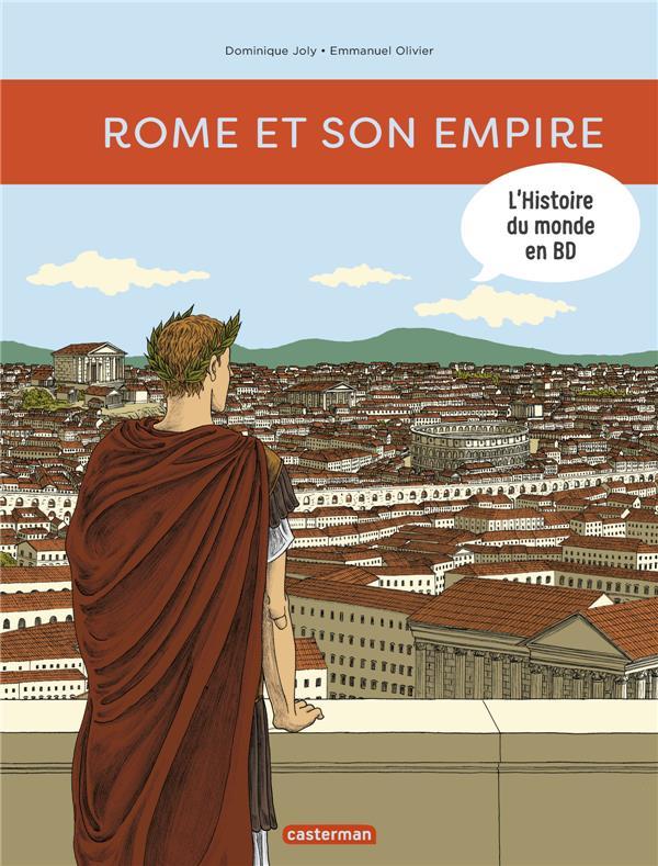 L'histoire du monde en BD T.1 ; Rome et son empire