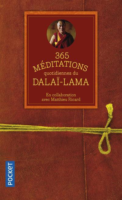 Dalaï-lama 14 - 365 MEDITATIONS QUOTIDIENNES DU DALAI-LAMA