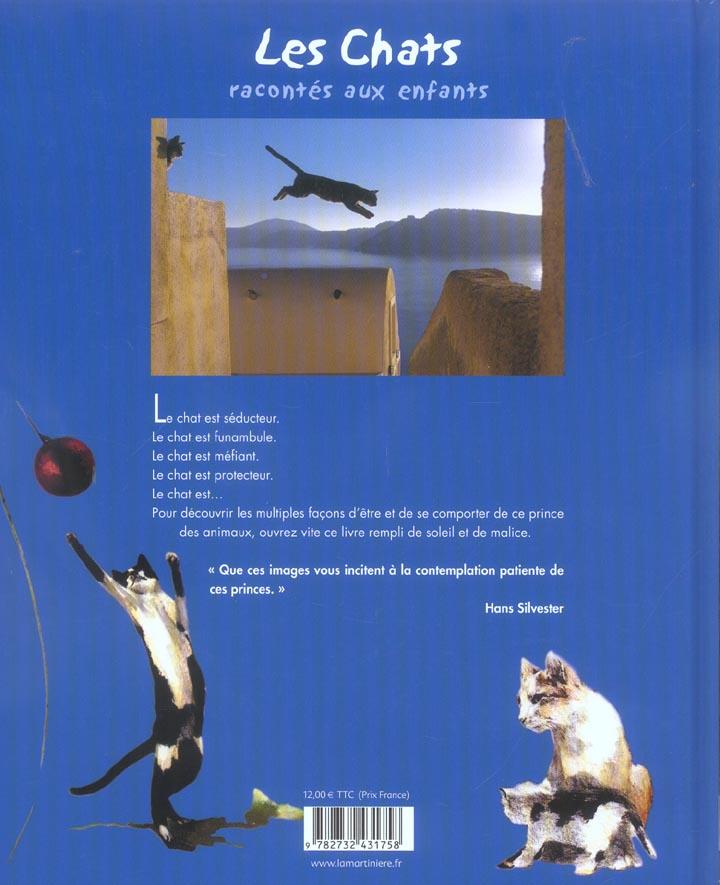 Les chats racontés aux enfants