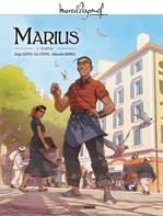 Vente Livre Numérique : Marcel Pagnol en BD - Marius - Volume 2  - Eric Stoffel - Serge Scotto