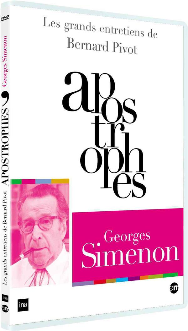 Grands entretiens de Bernard Pivot : Apostrophes : Georges Simenon