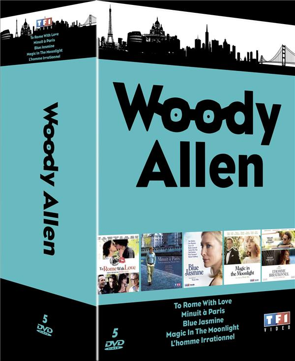Woody Allen - Amours et petits tracas : To Rome With Love + Minuit à Paris + Magic in the Moonlight + Blue Jasmine + L'homme irrationnel