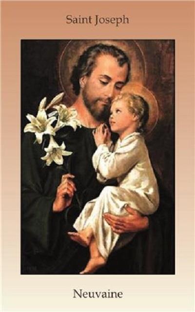 LIVRET DE NEUVAINE A SAINT JOSEPH