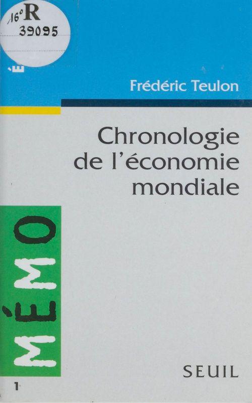 Chronologie de l'economie mondiale