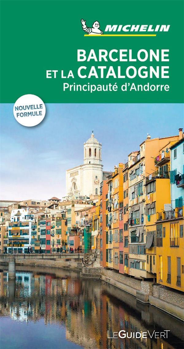 Le guide vert ; Barcelone et la Catalogne (édition 2019)