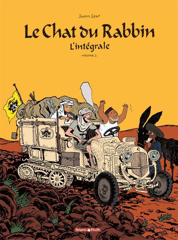 Le chat du rabbin ; INTEGRALE VOL.2 ; T.4 ET T.5