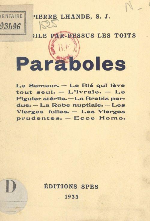L'Évangile par-dessus les toits : paraboles