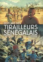 Couverture de Docu-Bd - Histoire Des Tirailleurs Senegalais En Bd