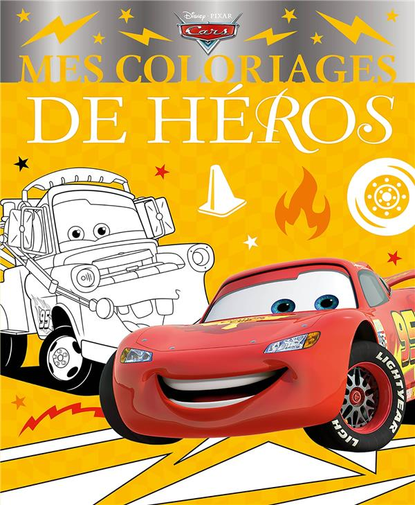 MES COLORIAGES DE HEROS  -  CARS XXX