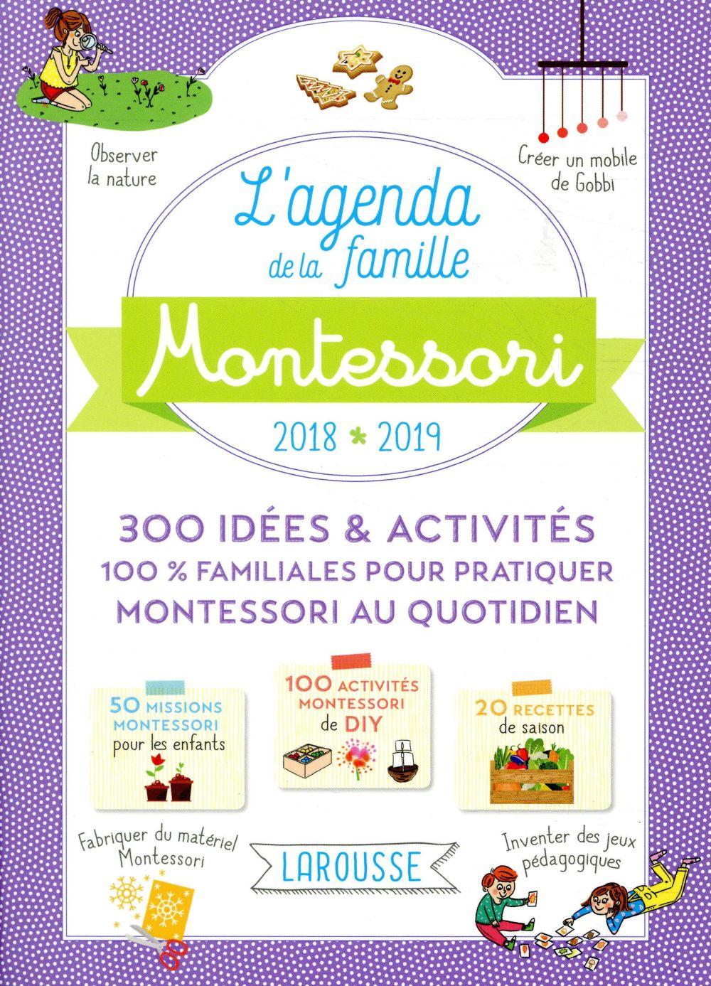 Agenda Montessori de la famille