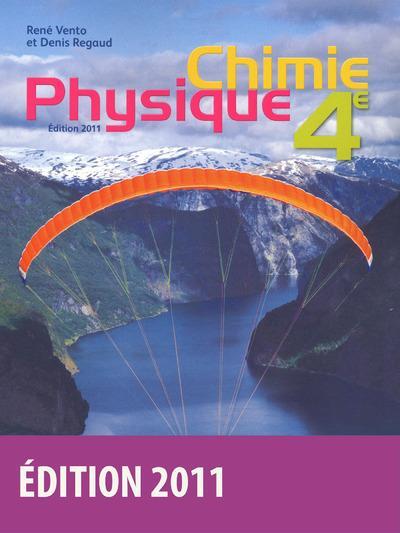 Physique-Chimie ; 4eme ; Livre De L'Eleve (Edition 2011)