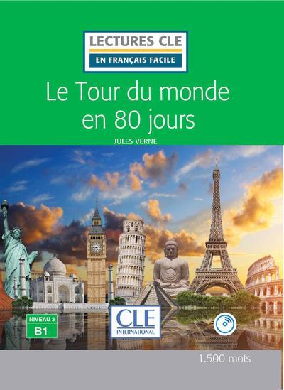 Le tour du monde en 80 jours fle lecture + cd audio 2e edition