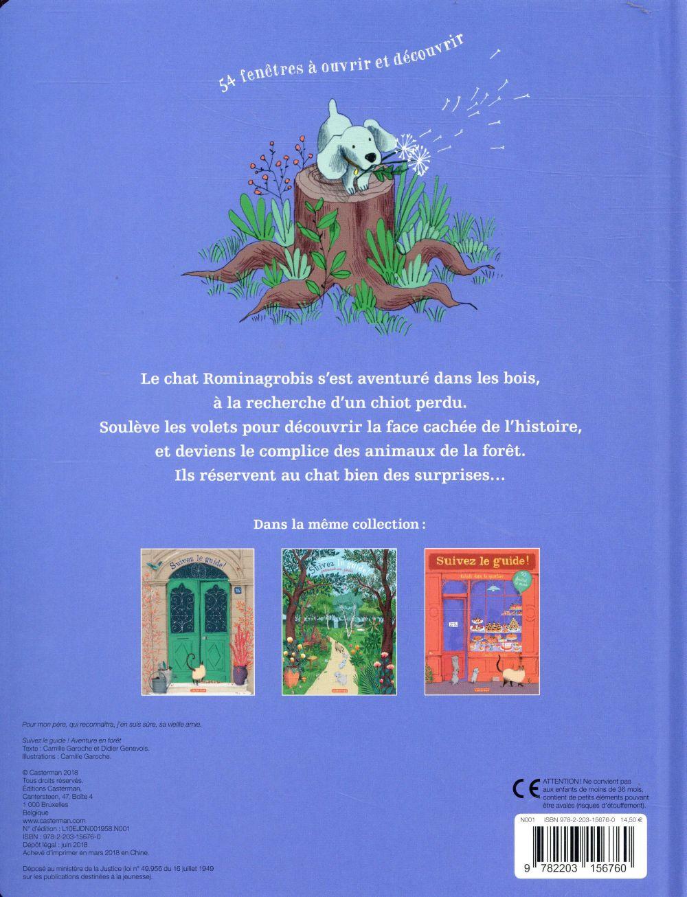 Suivez le guide ! t.4 ; aventure en forêt