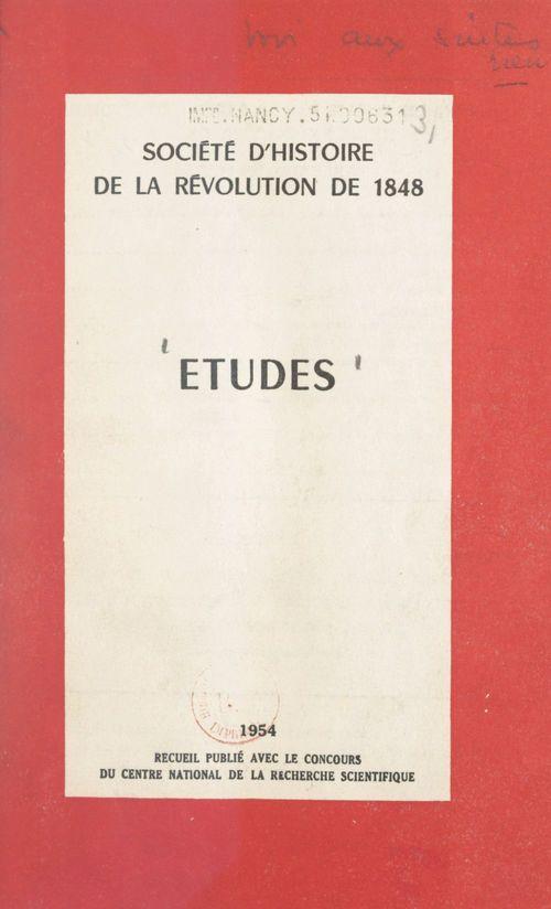 Études  - Collectif