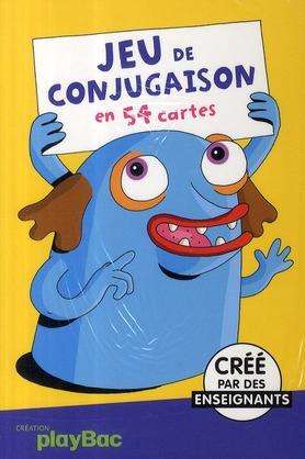 Jeu De Conjugaison En 54 Cartes