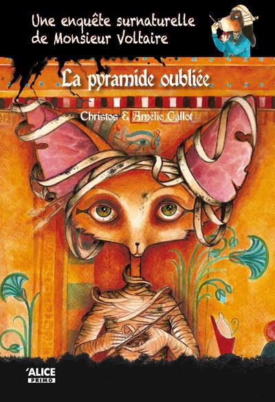 Une enquête surnaturelle de monsieur Voltaire T.4 ; la pyramide oubliée
