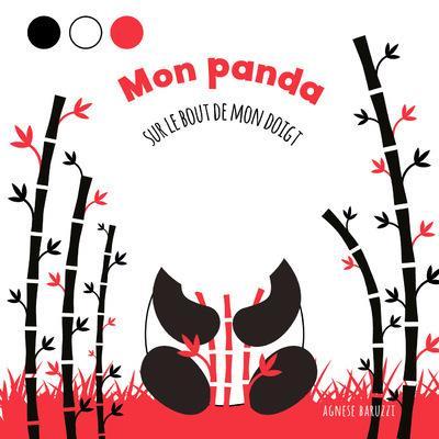 Mon panda : sur le bout de mon doigt
