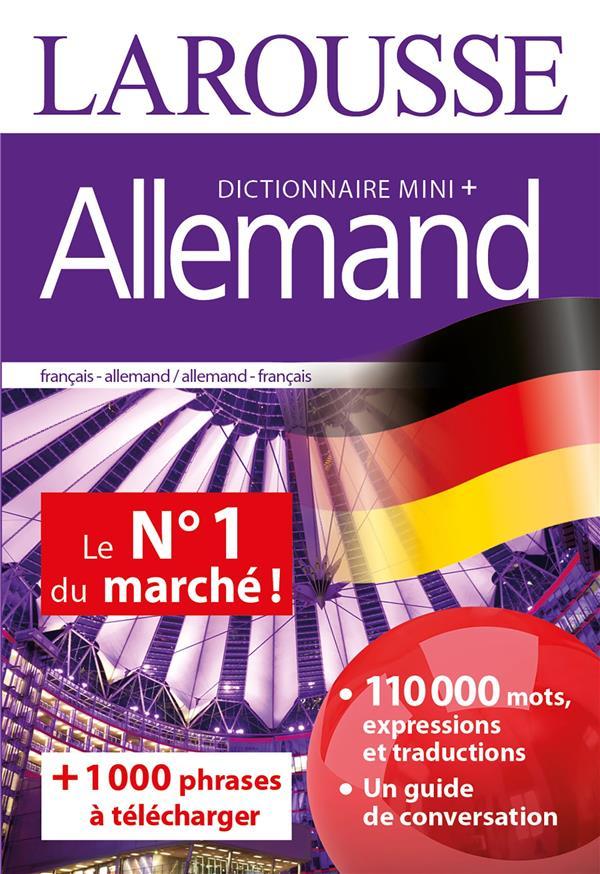 Dictionnaire mini plus allemand
