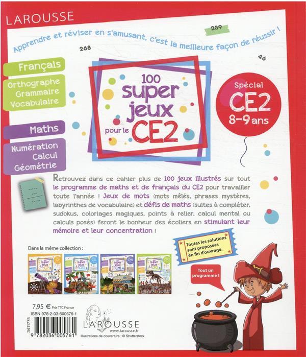 100 super jeux pour le CE2