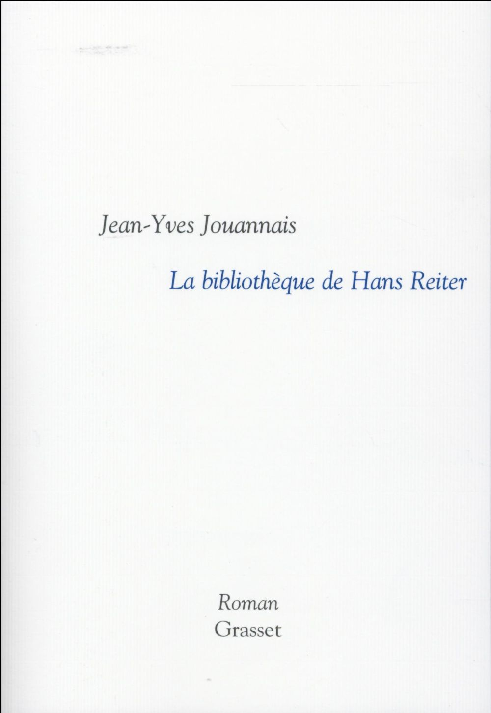 La bibliothèque de Hans Reiter