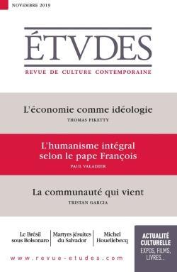 Revue etudes n.4265 ; novembre 2019