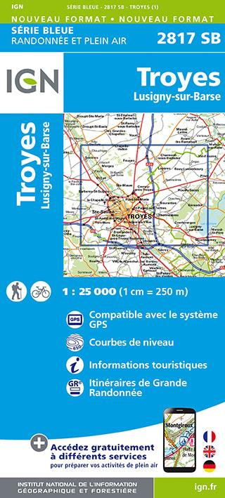 2817SB ; Troyes ; Lusigny-sur-Barse