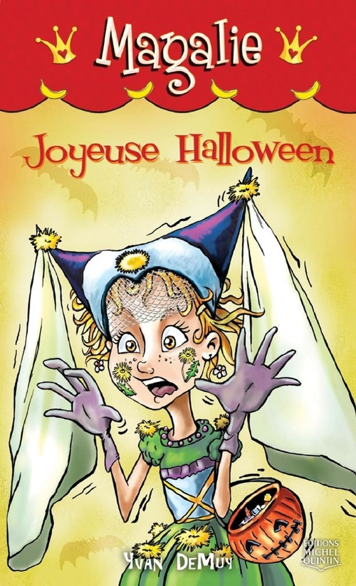 Magalie t.8 ; joyeuse Halloween