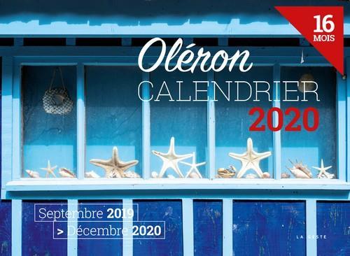 Calendrier 2020 ; Oléron