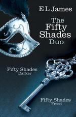 Vente EBooks : Fifty Shades Duo: Fifty Shades Darker / Fifty Shades Freed  - E. L. James