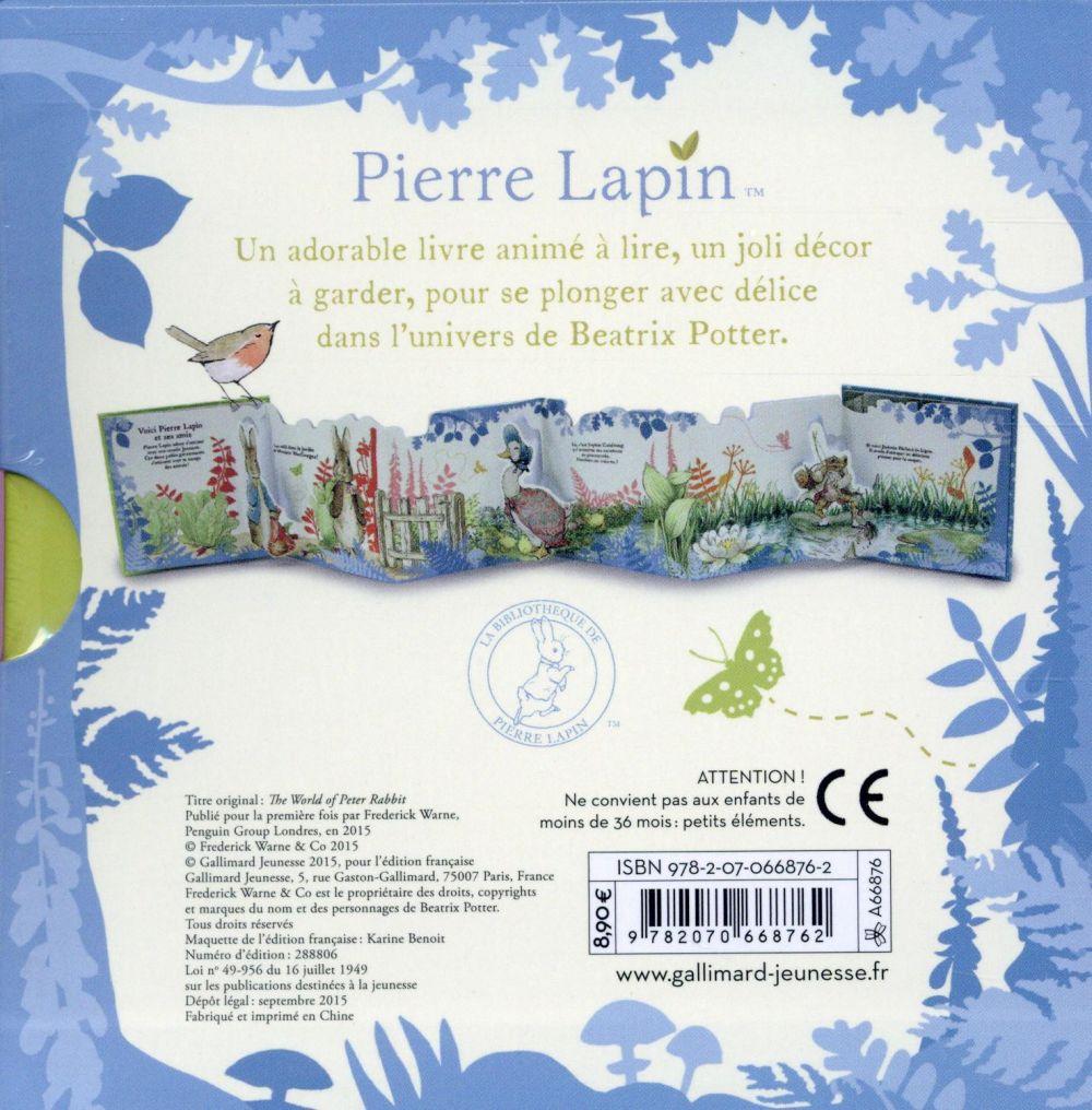 le monde de Pierre Lapin ; un livre pop-up à déplier