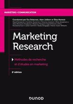 Vente EBooks : Marketing Research  - Alain Jolibert - Philippe Jourdan - Éva Delacroix - Elisa Monnot