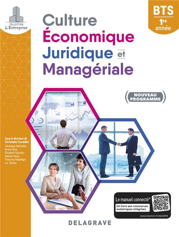 BTS ; culture économique, juridique et managériale ; 1re année ; pochette élève