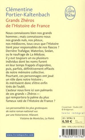 grands zheros de l'histoire de France