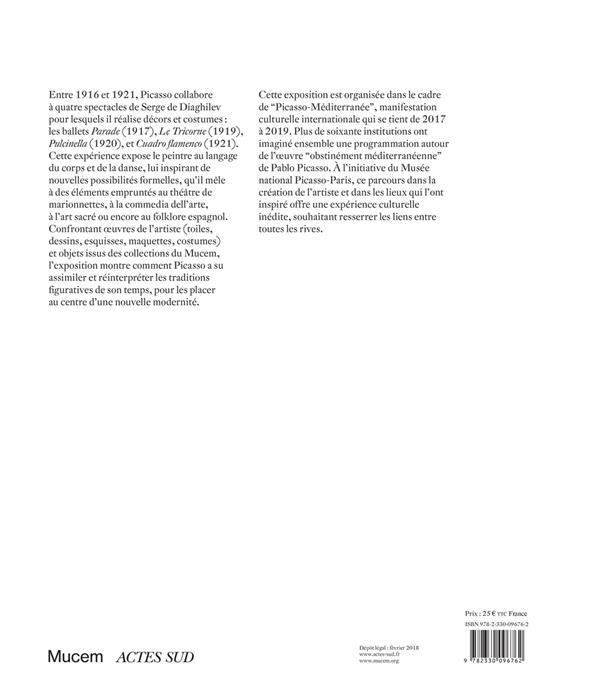 Picasso et les ballets russes ; entre Italie et Espagne