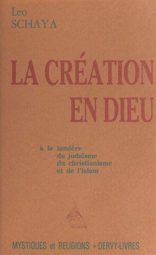 La création en Dieu