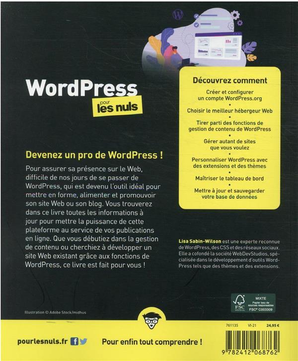 Wordpress pour les nuls (5e édition)