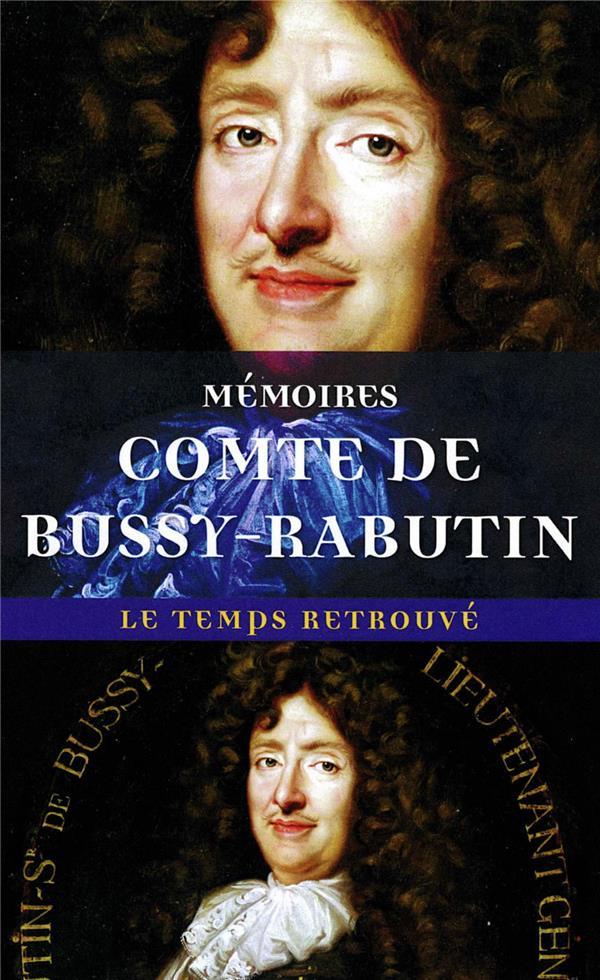 Mémoires du comte de Bussy-Rabutin