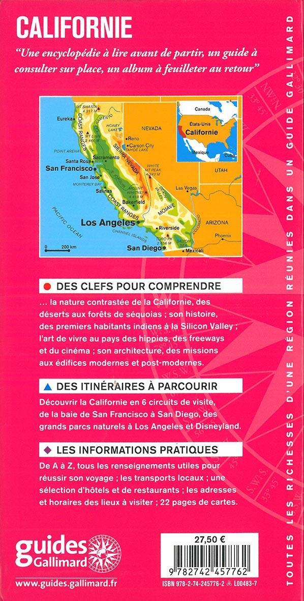 Californie ; San Francisco, Yosemite, Death Valley, Los Angeles, San Diego (édition 2019)