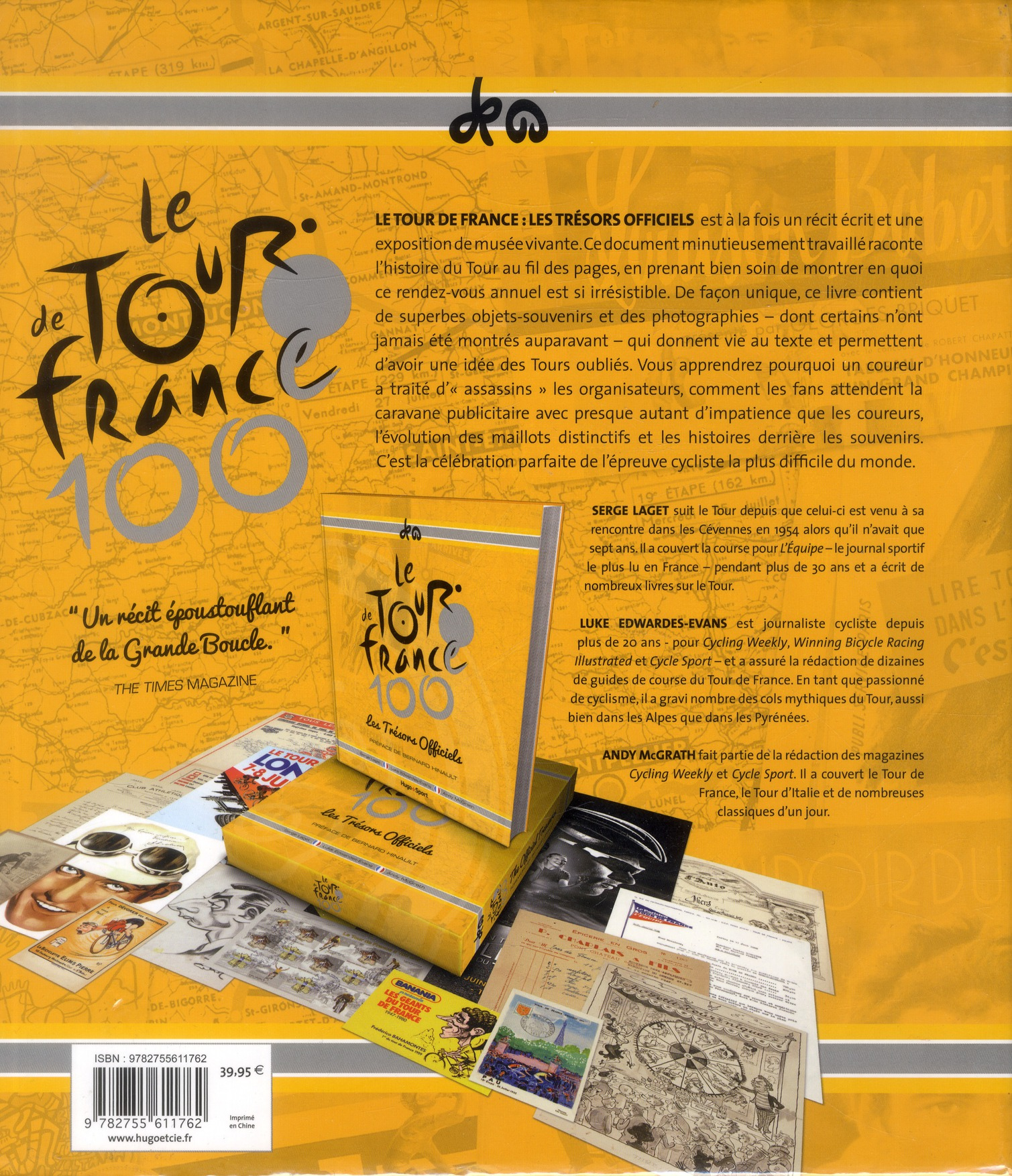 tour de France ; les trésors officiels ; coffret