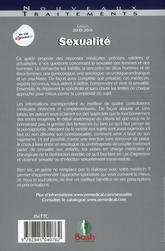 Sexualité ; guide à l'usage des femmes et des hommes (édition 2010/2011)