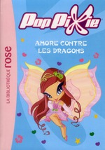Couverture de Poppixie t.9 ; amore contre les dragons