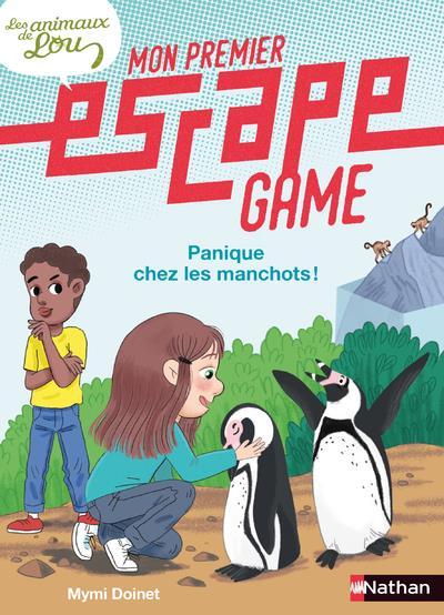MON PREMIER ESCAPE GAME  -  LES ANIMAUX DE LOU : PANIQUE CHEZ LES MANCHOTS